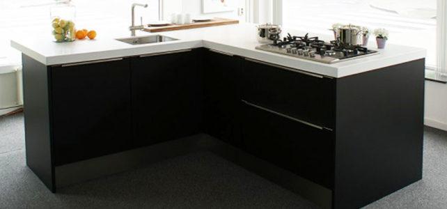 Häcker AV 5095 Designglas mat zwart