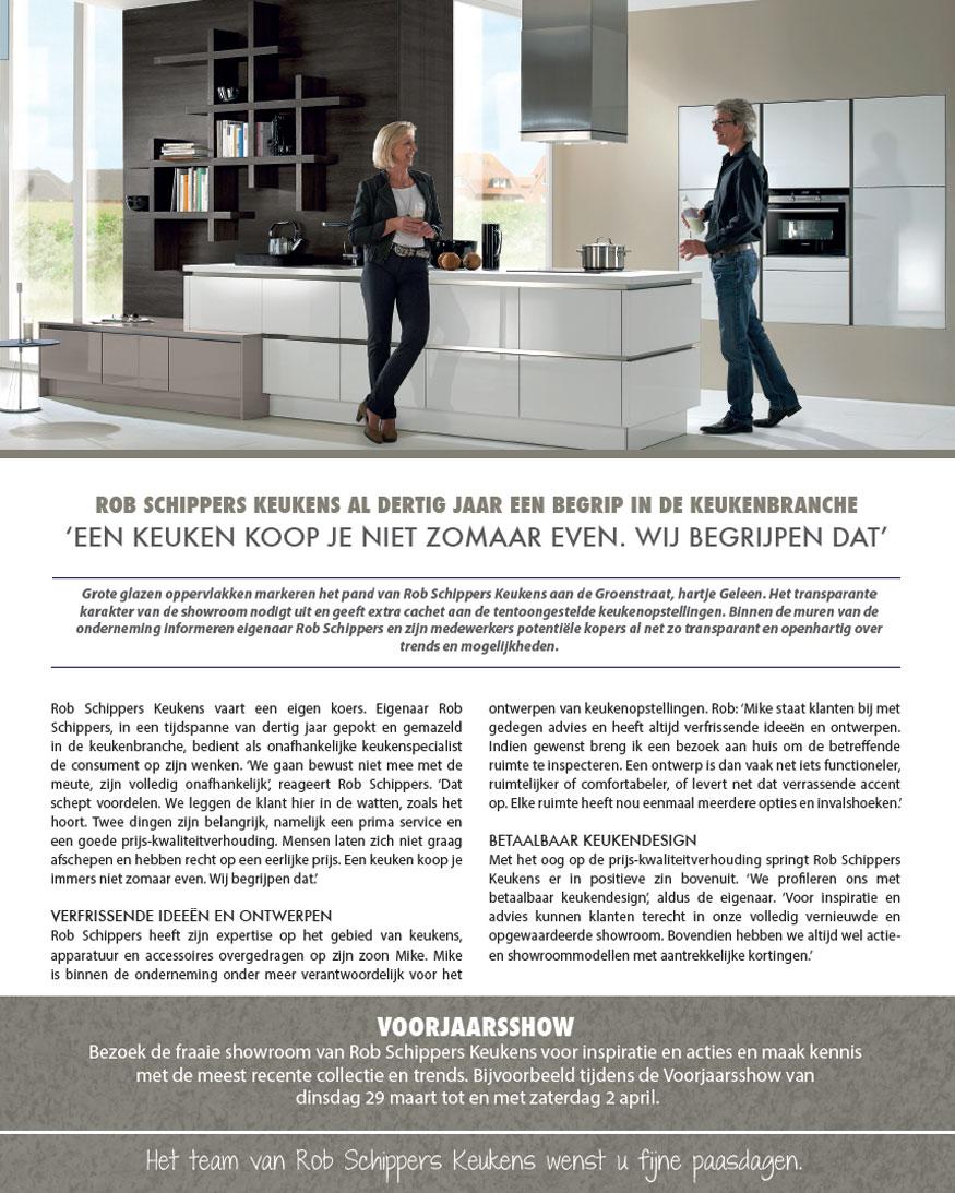 Keukens geleen keukenarchitectuur for Rob schippers keukens geleen