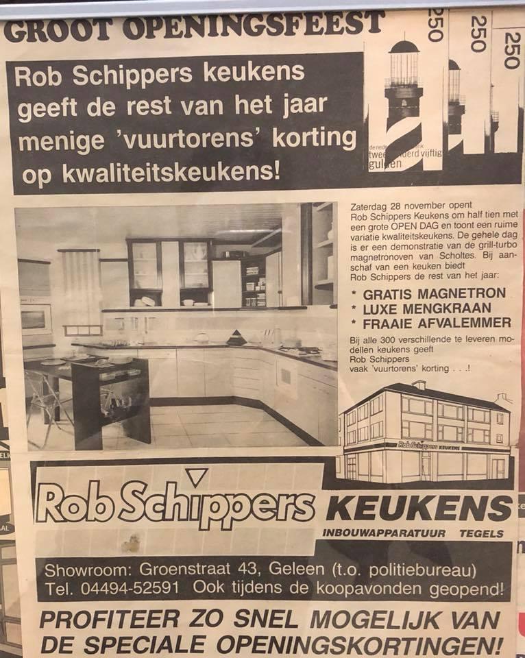 Rob schippers keukens 30 jaar rob schippers keukens for Rob schippers keukens geleen